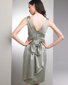 Nanette Lepore Satin Dress -  Dresses -  Bergdorf Goodman :  nanette lepore satin dress bergdorf goodman