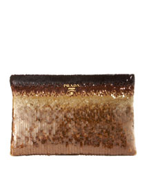 Prada Degrade Clutch -  Evening Bags -  Bergdorf Goodman  :  clutches prada