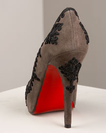 Christian Louboutin Very Passementerie Pump -  Shoes & Handbags  -  Bergdorf Goodman from bergdorfgoodman.com