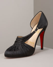 Christian Louboutin Drapinight Jeweled d'Orsay - Shoes & Handbags
