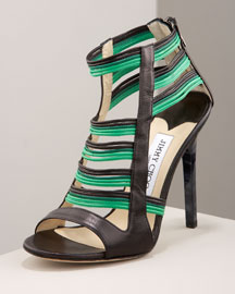 Jimmy Choo Rope High-Heel Sandal -  Shoes -  Bergdorf Goodman
