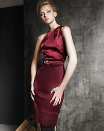 Roberto Cavalli One-Shoulder Dress -  Ready-To-Wear -  Bergdorf Goodman from bergdorfgoodman.com