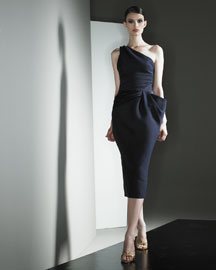 Versace Gathered Dress -  Runway Favorites -  Bergdorf Goodman from bergdorfgoodman.com