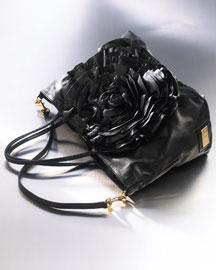 Valentino Petale Rose Tote -  Handbags -  Bergdorf Goodman :  fall preview retro messenger bag accessories