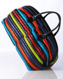 Bottega Veneta Woven Boston- Bottega Veneta- Bergdorf Goodman :  handbag goodman satchel cocco