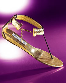 Jimmy Choo Allena Snakeskin Thong Sandal -  Spring Shoes -  Bergdorf Goodman :  apparel dior shoes accessories
