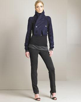 Proenza Schouler Cropped Jacket  :  jacket cropped proenza schouler