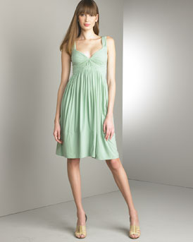 Donna Karan Collection - Draped Dress - Bergdorf Goodman donna karan dress