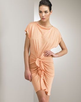 3.1 Phillip Lim Knot Front Dress :  chic glamorous designer dress