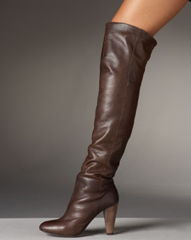 Over-the-Top Boots - Fall Trends  -  Bergdorf Goodman :  donna karan