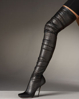 Bergdorf Goodman - Fall Trend: Over-the-Top Boots from bergdorfgoodman.com