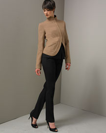 Narciso Rodriguez-Cropped Jacket & Slim Pants -- Bergdorf Goodman Online