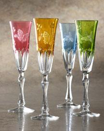 Varga            Springtime Champagne Flute-  Varga-Bergdorf Goodman