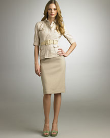 Elie Tahari Alanze Jacket & Sophie Skirt -  Bergdorf Goodman :  jacket alanze pencil daywear