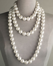 Kenneth Jay Lane Glass Pearl Necklaces- Necklaces- Bergdorf Goodman