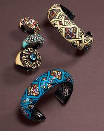 Matthew Campbell Laurenza            Enamel Rings & Bracelets-  New Arrivals-Bergdorf Goodman from bergdorfgoodman.com