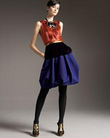 Oscar de la Renta Opulent Velvet - Fall Trends - Bergdorf Goodman