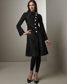 Armani Collezioni Oversized Dot Coat -  View All -  Bergdorf Goodman from bergdorfgoodman.com