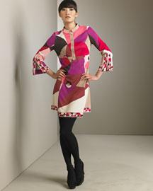 Emilio Pucci Printed Dress- Emilio Pucci- Bergdorf Goodman