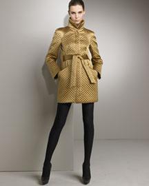 Alexander Mcqueen             Quilted Satin Coat-     Coats-  Bergdorf Goodman       :  coat bergdorf alexander mcqueen