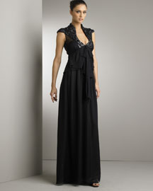Valentino Silk Organza Gown -  Ready-To-Wear -  Bergdorf Goodman