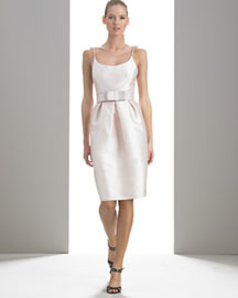 Michael Kors Tulip Dress -  Women's Ready-To-Wear -  Bergdorf Goodman :  celebrities goodman ready art deco