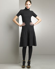 Ralph Lauren            Turtleneck Dress-  Dresses-Bergdorf Goodman