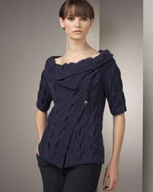 Tse Cashmere Asymmetric Cashmere Cardigan- Designer- Bergdorf Goodman