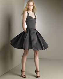 Carolina Herrera Full-Skirt Cocktail Dress -  Designer Collections  -  Bergdorf Goodman from bergdorfgoodman.com