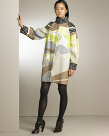 Emilio Pucci            Cocoon Coat -   		Ready-To-Wear - 	Bergdorf Goodman :  emilio pucci bergdorf goodman graphic print coats