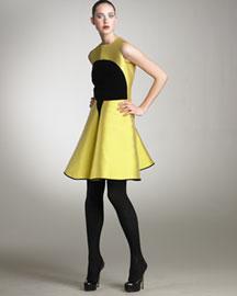 Yves Saint Laurent Colorblock Dress Yves Saint Laurent Bergdorf ...