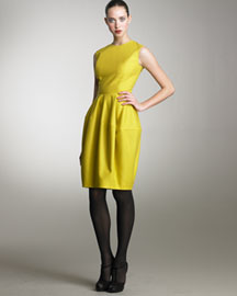 Yves Saint Laurent Bubble Sheath Dress -  Ready-To-Wear -  Bergdorf Goodman from bergdorfgoodman.com