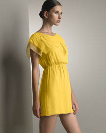 3.1 Phillip Lim Mini Dress -  Apparel -  Bergdorf Goodman :  short sleeves mini mini dress dandelion