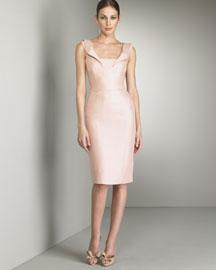Valentino Oragami V Back Dress- Designer- Bergdorf Goodman