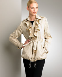 Ralph Lauren Black Label Trisha Metallic Jacket -  Neutrals -  Bergdorf Goodman :  black trisha ralph lauren black label label