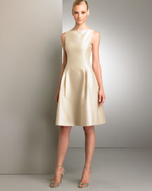 Ralph Lauren Black Label Elsa Dress -  Neutrals -  Bergdorf Goodman