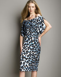 Roberto Cavalli Off Shoulder Dress -  Roberto Cavalli -  Bergdorf Goodman  :  roberto cavalli dress