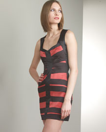Striped Sleeveless Dress -  Bergdorf Goodman :  striped sleeveless narciso rodriguez dress