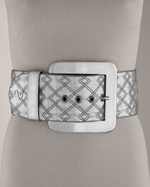 D&G Dolce & Gabbana Wide Quilted Belt -  Accessories -  Bergdorf Goodman :  chic accessories incircle retro