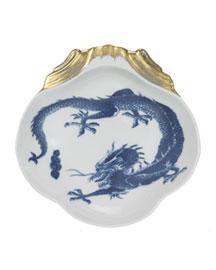 Mottahedeh            Blue Dragon Shell Dish-  Mottahedeh-Bergdorf Goodman
