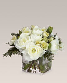 Diane James Amaryllis & Cedar Bouquet- Vases and Bowls- Bergdorf Goodman