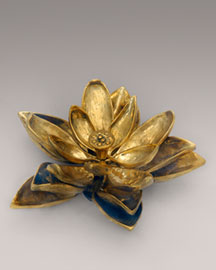 Kelly Wearstler Gilded Lotus Paperweight -  Collection -  Bergdorf Goodman