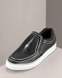 Alejandro Ingelmo Mirrored Slip-On -  Slip On -  Bergdorf Goodman :  mens shoes men slip-ons patent