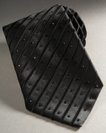 Stefano Ricci Crystal Tie, Black- For Him- Bergdorf Goodman from bergdorfgoodman.com