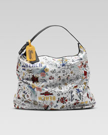 Gucci Tattoo Nylon Tote -  Accessories -  Bergdorf Goodman :  travel bergdorf goodman incircle accessories