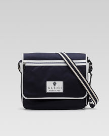 Gucci Nylon Messenger Bag -  Accessories -  Bergdorf Goodman