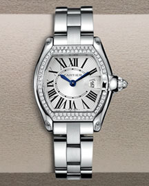 Cartier Small Roadster Diamond Watch -  Women's -  Bergdorf Goodman