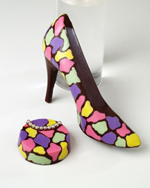 Sweet Bliss Pump & Purse -  For Her -  Bergdorf Goodman :  gift chocolate shoe