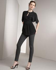 J Brand Jeans- Ciggy Skinny Jeans- Bergdorf Goodman