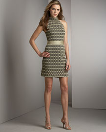 M Missoni Halter Dress- Dresses- Bergdorf Goodman